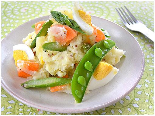 春野菜とポテトのサラダ