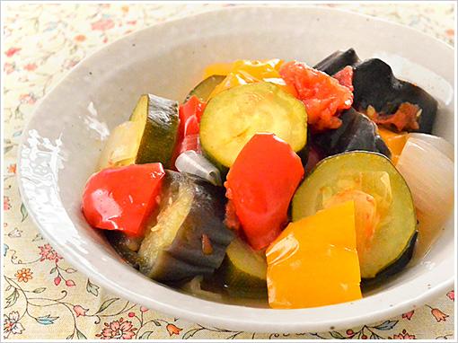 ラタトゥイユ風 夏野菜の煮物