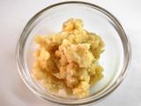 レンコン、しょうがの皮をむき、すり下ろす。3.の鍋に入れ1分程度煮る。