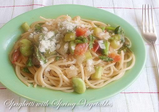 春野菜スパゲッティ